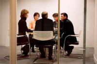 conseil syndical et conseillers syndicaux en réunion