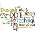 nuage de mots dossier de diagnostic technique