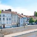 Arles maisons de ville en bord de rhone