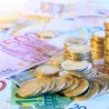 pièces et billets. appels de fonds en copropriété