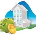 diagnostic de performance énergétiqueimmeuble tirelire économies dessin tirelire verte