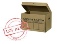boite d'archives loi alur