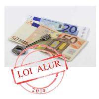 euros clefs loyer tampon loi alur