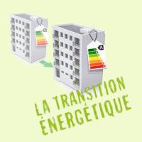 schéma immeubles améliorant leur isolation pour la transition énergétique