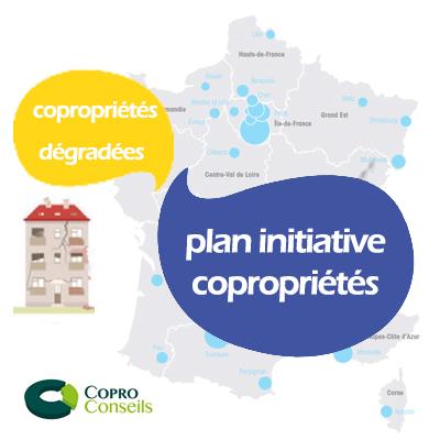 logo initiative copropriétés et copropriétés dégradées coproconseils