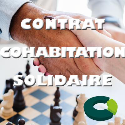 poignée de main entre un homme âgé et une femme jeune au dessus d'un échiquier - contrat de cohabitation intergénérationnelle solidaire - CoproConseils