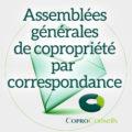 enveloppe logo coproconseils assemblée générale vote par correspondance